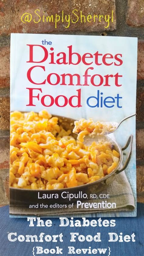 comfort food book the diabetes comfort food diet simplysherryl
