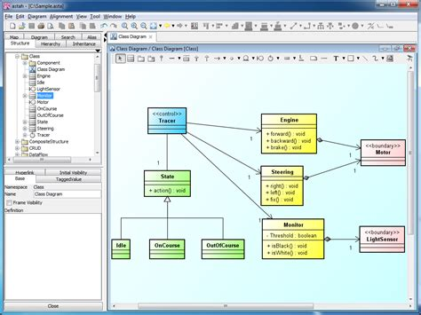cara membuat uml java cara membuat class diagram java export java code from
