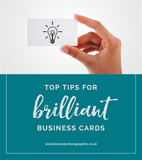 tips for business cards top tips for brilliant business cards fiona robertson