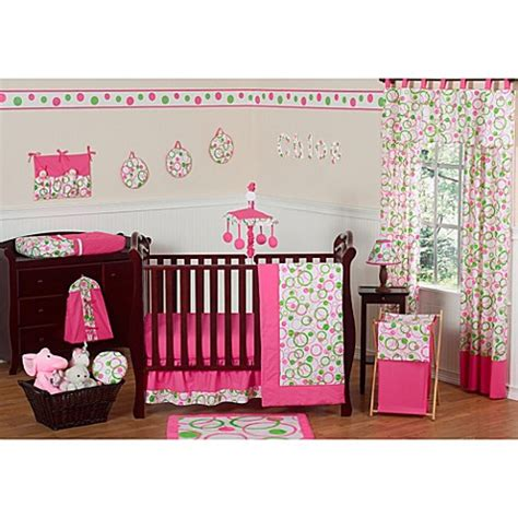 Circle Crib Bedding Buy Sweet Jojo Designs Mod Circles 11 Crib Bedding Set From Bed Bath Beyond