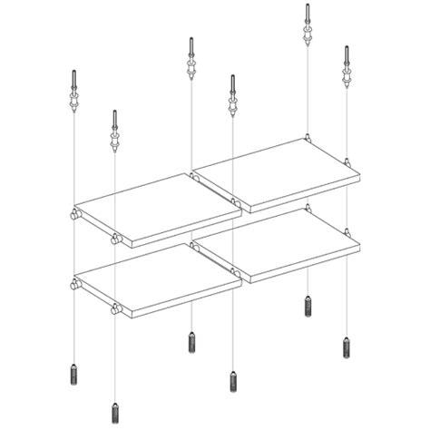 How To Hang A Glass Shelf by Shelving Arakawa Hanging Systems