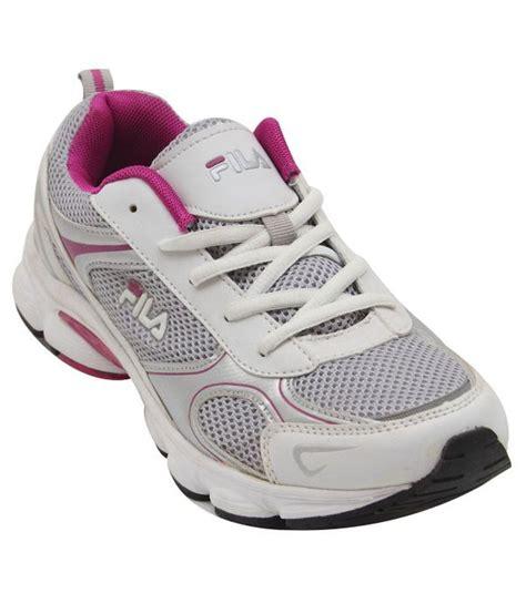 fila white running shoes price in india buy fila white