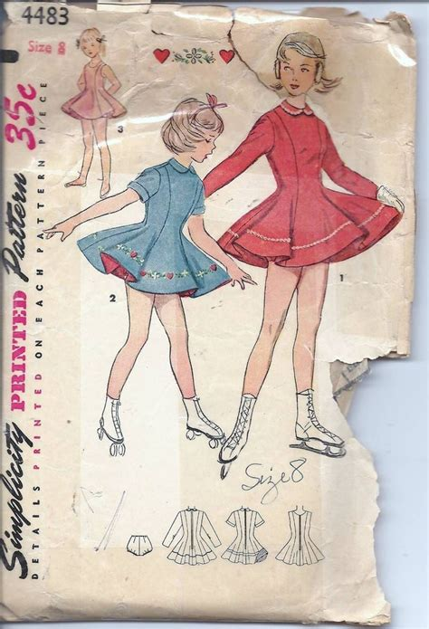 sewing pattern roller derby 10 images about vintage sewing patterns 2 on pinterest