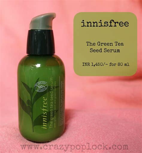 In Bottle 5ml Innisfree The Green Tea Seed Serum innisfree the green tea seed serum b h a r t i p u r i b h a r t i p u r i