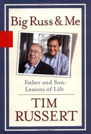 Bummer For Tim Faith by Big Russ Me By Tim Russert Kirkus Reviews