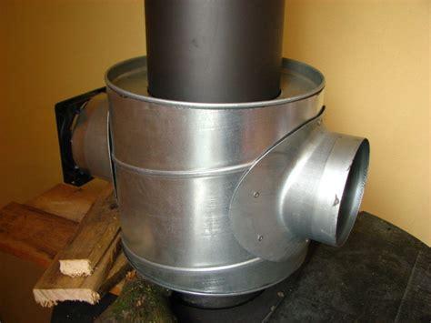 houtkachel forum warme lucht warmtewisselaar op de kachelpijp gemaakt