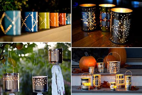 Handmade Outdoor Lighting - spooky decorations for your entrance way