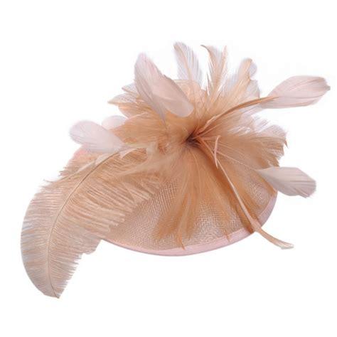 Vintage Bridal Hair Fascinators by Vintage Feather Wedding Racing Hair Clip