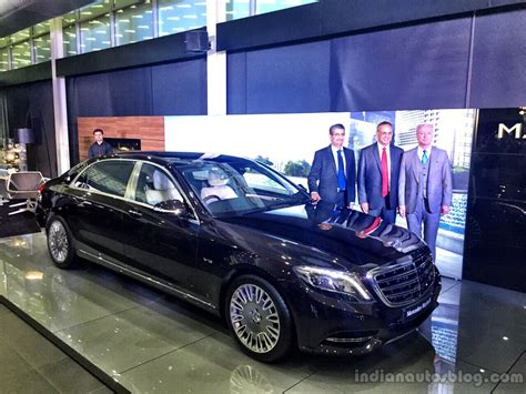 mercedes maybach s600 india launched live image