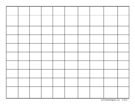 best photos of free printable best photos of blank grid worksheets printable number