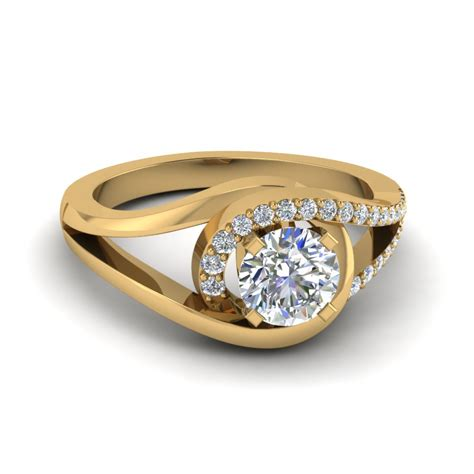 engagement rings for women shop for latest twist swirl engagement rings at