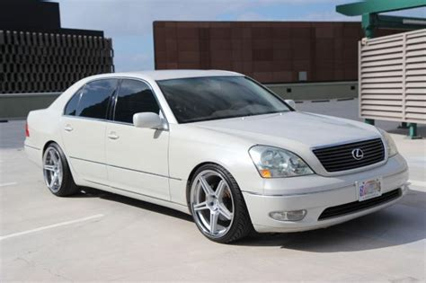 lexus ls430 rims autoland lexus ls430 pearl coilover rims leather loaded