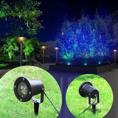 Ip65 Green Laser Blue Led Outdoor Indoor Projector And Green Outdoor Lights
