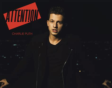 charlie puth attention album charlie puth has a case of the ex on new single