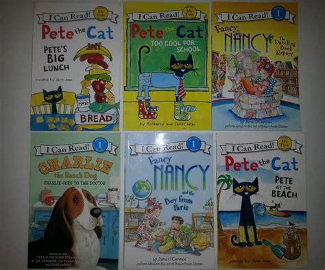 fancy nancy oodles of kittens books lot of 6 i can read level 1 books fancy nancy pete the