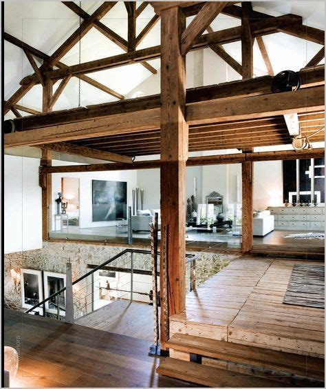 exposed wood beams exposed wooden beams loft studio pinterest
