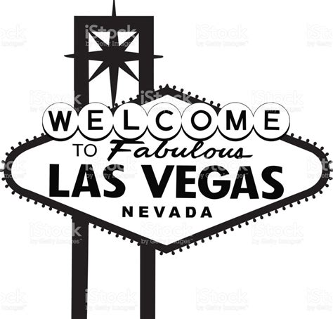 welcome to las vegas sign template las vegas sign stock vector 643230172 istock