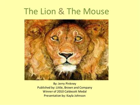 the lion and the the lion the mouse