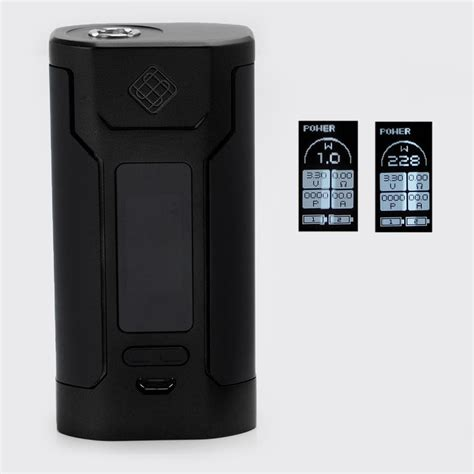 Wismec Predator 228w Box Mod Vape Authentic Asli Murah authentic wismec predator 228 228w black tc vw variable wattage mod