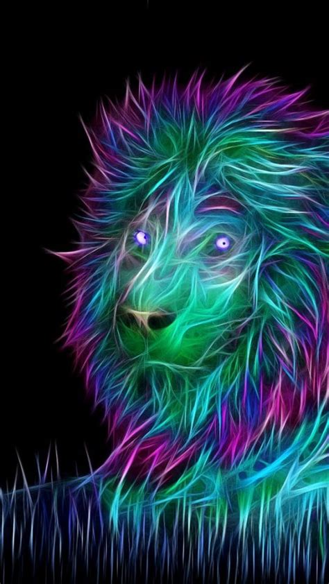 wallpaper abstract lion abstract lion art 540x960 wallpaper abstract 3d art