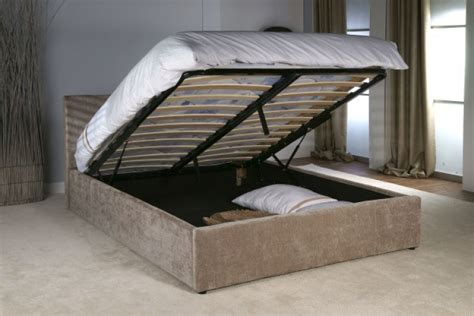 kingsize ottoman beds limelight jupiter 5ft kingsize mink fabric ottoman bed