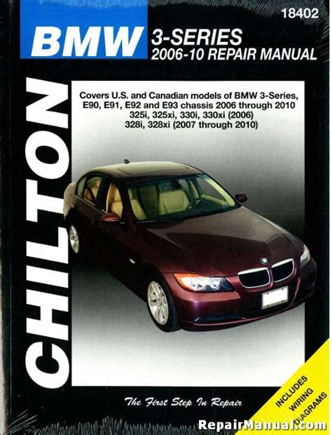 car repair manuals download 2006 bmw 325 user handbook bmw 3 series 2006 2010 automotive service workshop repair manual