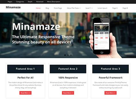 design milk wordpress theme 30 responsive free flat design wordpress themes