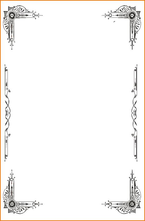 full page borders print out a wide range of free page borders