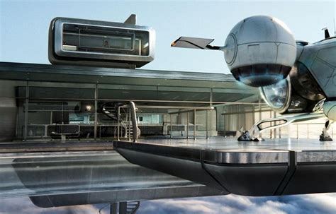 oblivion houses tower house design with floating heliport area oblivion robotic engines