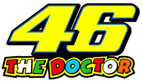 Aufkleber Rossi Motorrad motorrad autoaufkleber valentino rossi the doctor 46
