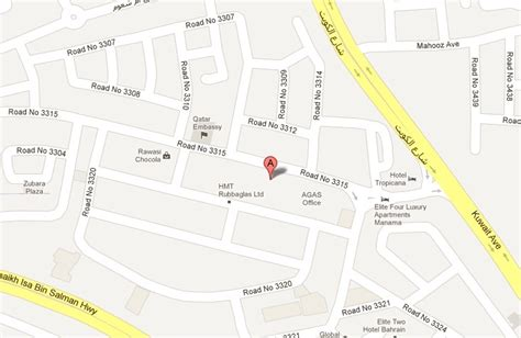 printable road map of bahrain location contact bahrain music institute