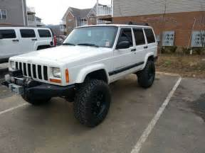 find used 1999 lifted white jeep xj 4 door in