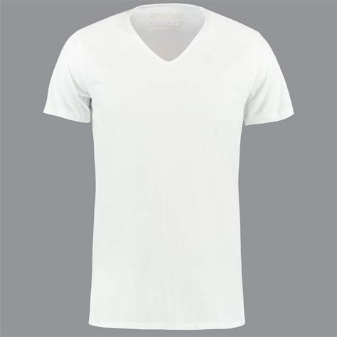 white v neck t shirt by shirtsofcotton