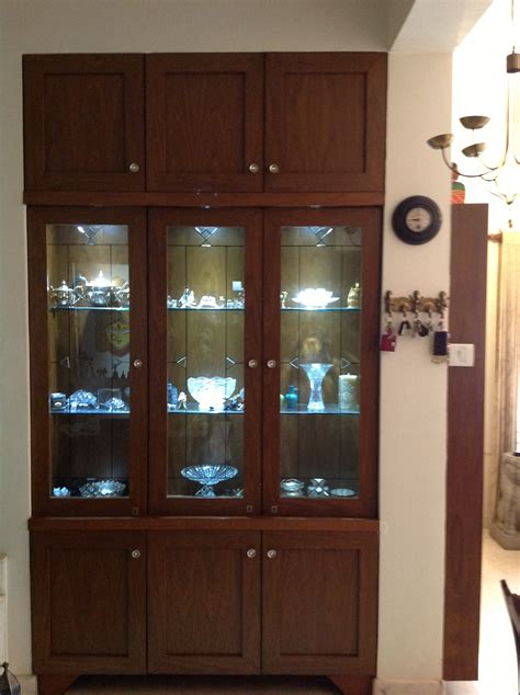 Dining Room Cupboard Design by Crockery Unit Made To Order In A Niche That Existed Along