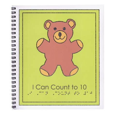 count to ten a novel books maxiaids braille childrens book i can count to ten