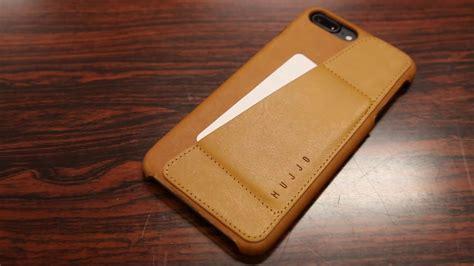 slim wallet case mujjo leather wallet case iphone