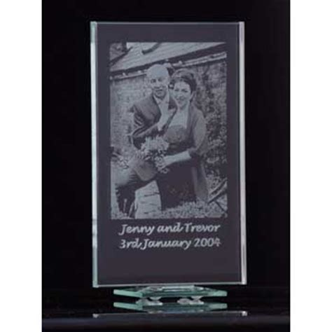 etched glass photo frame anniversary gift review