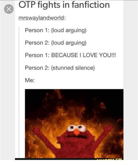 L Love You Meme - otp fights in fanfiction mrswaylandworld person 1 loud