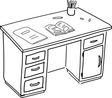 dessin de bureau bureau
