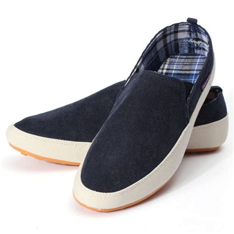 buy mens canvas casual trainers boat shoes bazaargadgets