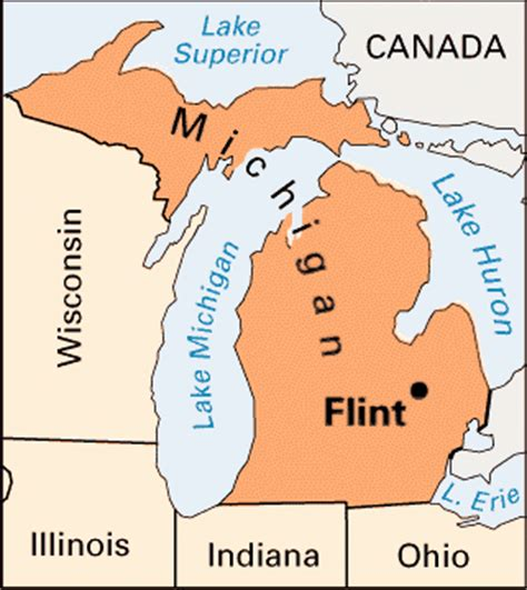 where is flint on map flint location encyclopedia children s homework