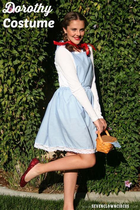 easy homemade dorothy costume dorothy costume dorothy
