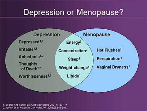 hot flashes mood swings depression achieving remission in depression managing women and men
