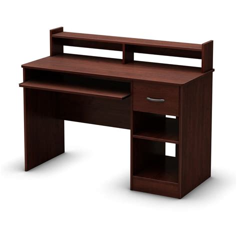 south shore furniture axess small desk royal cherry shop south shore furniture axess contemporary royal cherry