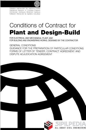 FIDIC Yellow Book: Conditions of Contract for Plant and