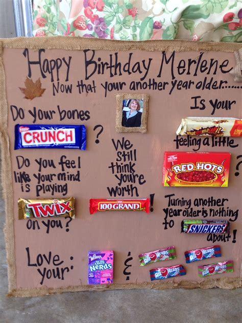 Produk Brand Happy Mini Canada birthday bar poem 80th birthday ideas bar poems birthday bar