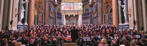 vicariato roma ufficio matrimoni concerto coro della diocesi di roma diretto da mons marco