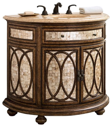 ambella bathroom vanities ambella home collection tiffany sink chest traditional