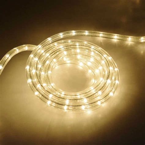 18 rope tube light 3 8 quot diameter clear ropelights