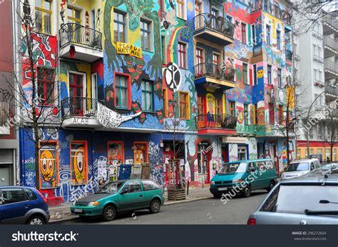 house music in berlin berlin march 6 graffiti house easten stock photo 296272604 shutterstock